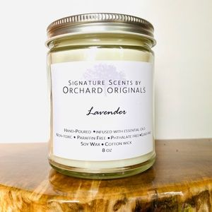 Other - Lavender soy wax candle